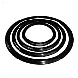 LAKSHMI Pressure Cooker Gasket for Prestige Type Aluminium Outer Lid, Black (2 Ltrs / 3 Ltrs)