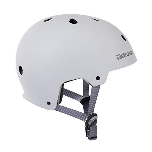 Retrospec CM-2 Bicycle / Skateboard Helmet for Adult Commuter, Bike, Skate, Matte Slate, Medium: 55-59 cm / 21.75 - 23.25 inches