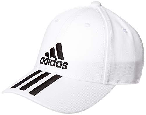 adidas 6p 3s Chapeau Mixte Adulte, White/Black/Black, FR : S...