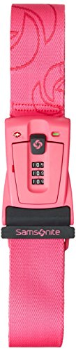 Samsonite Travel Sentry 3-Dial Combination Luggage, Neon Pink, One Size