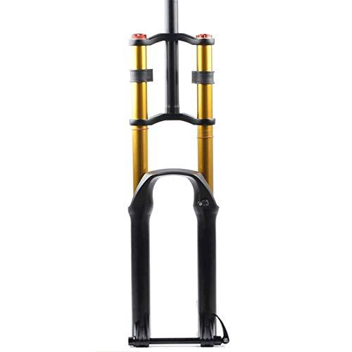 Horquilla de Bicicleta Horquilla de suspensión de Bicicleta para Bicicleta de montaña...