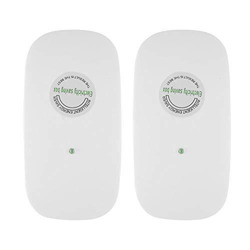 Yosoo- Electricity Saver, 2Pack 30KW Home Electricity Saving Box Intellegent Energy Saver Power Saver Device