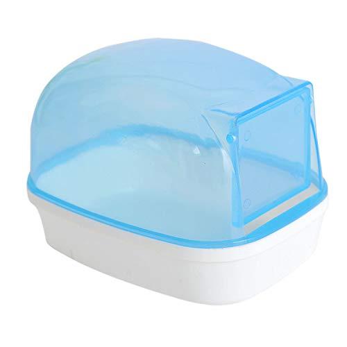 FOXSMZZ Baño Jaula para Hámster El Cuarto de Bano de Hamster-Blue