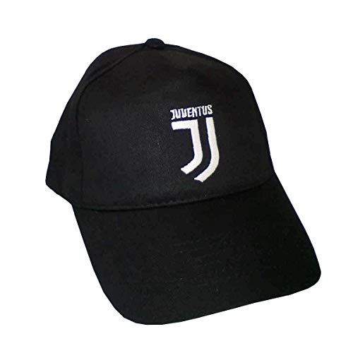 Cap04 Juventus Baseball-Kappe für Kinder, Schwarz