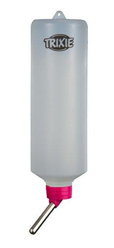 Trixie Kleintiertränke, Trinkflasche – 600 ml für z.B. Kaninchen, diverse Farben - 2