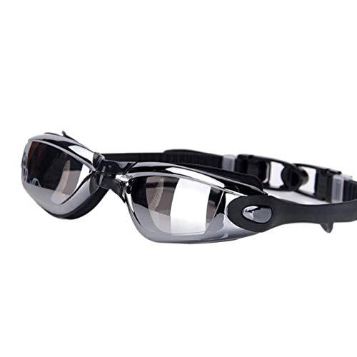 Pinkyo Shop Swimming Goggles Outdoor Anti-Fog UV Swimming Glasses Men Women Professional Silicone Myopia Swimming Goggles with Earplug Sports Eyewear-b-Australia