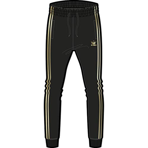 adidas Originals Superstar 24 - Pantalón de chándal para hombre - Negro - X-Small