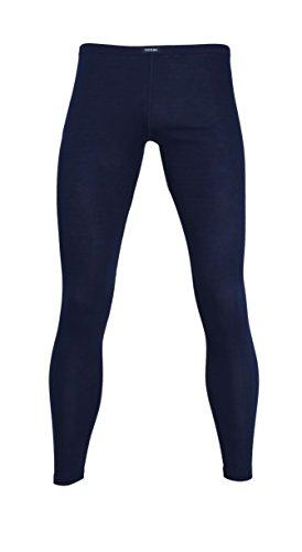 Ceceba Herren Lange Unterhose, Baumwolle, Polyester, Dunova, Navy, Uni XL