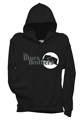MUSH Sweatshirt The Blues Brothers Chapeaux - Film by Dress Your Style - Homme-L-Noir