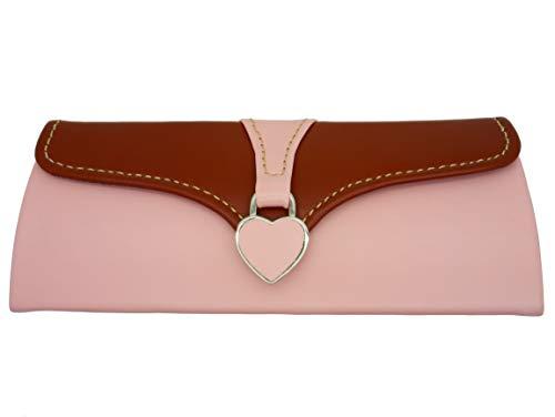 GoOpticians Damen Luxus Brillenetui - Pink