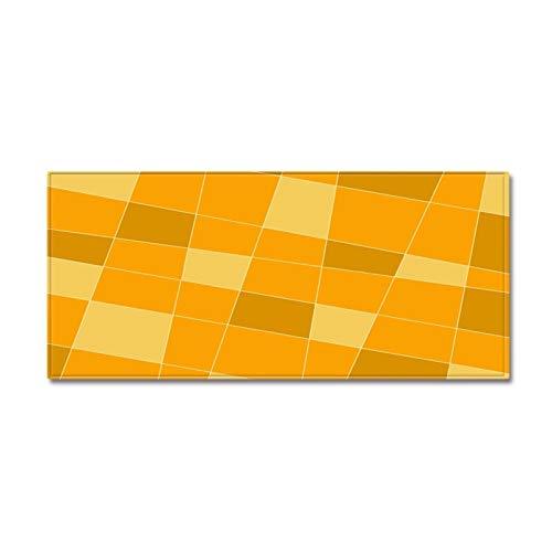 Alfombra de Antideslizante para Cocina Franela Rectangular Alfombra geométrica de Cocina Estera del Piso Antideslizante Absorbente sofá de la Sala Largo Mats Restaurante Esponja Manta