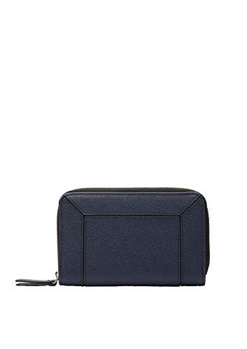 s.Oliver (Bags Damen 39.001.93.2506 Portemonnaie Geldbörse, blue, 1x10x15.5 cm