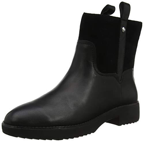 Fitflop Damen Signey Mixte Kurzschaft Stiefel, Schwarz All Black 090, 38 EU