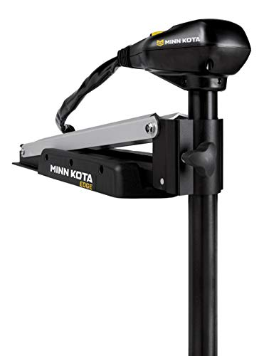 MinnKota Edge 45 Bowmount Foot Control Trolling Motor with Latch and Door Bracket (45lbs thrust, 36' Shaft)
