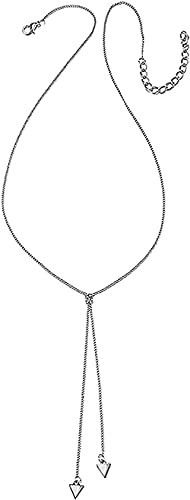 BEISUOSIBYW Co.,Ltd Collier Simple Collier Femme Collier Triangle Pendentif Double Collier Long Argent Dorada Collier Décoration Femme Charme Robe
