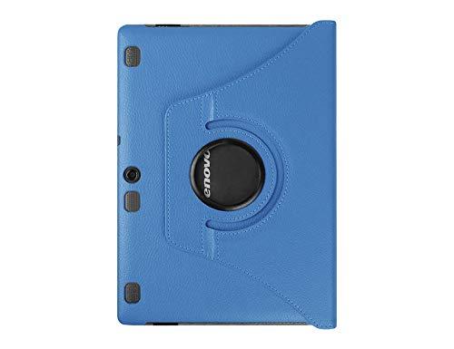 Adecuado para Lenovo Lenovo tab2 A10-70F Funda de Cuero para Tableta con Funda Protectora giratoria 360 para Empresas-Cielo Azul_Lenovo tab2 A10-70F / L