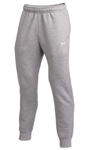 Nike Club Men's Training Joggers (Dark Grey/White, X-Large)