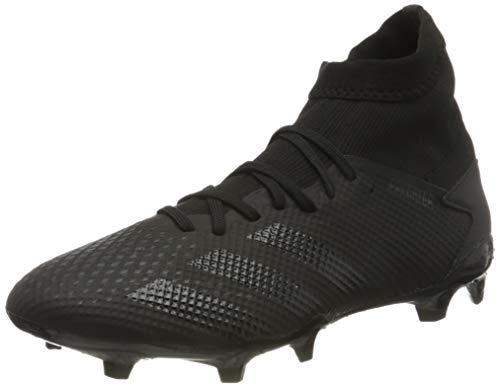 adidas Mens Predator 20.3 FG Soccer Shoe, CBLACK/CBLACK/DGSOGR, 42 EU
