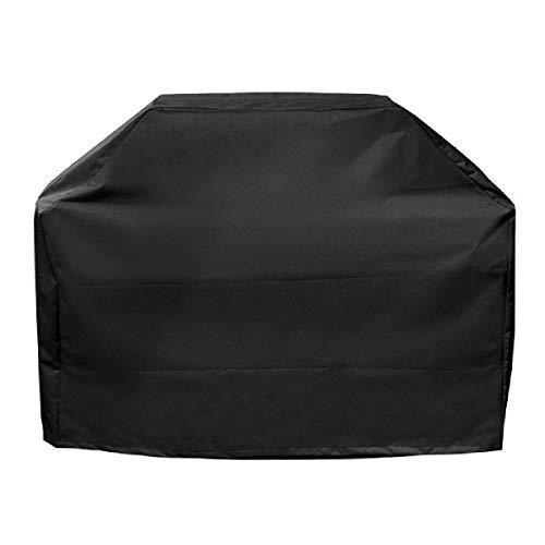 TRIWONDER Grill Abdeckhaube, wasserdichte und UV-Schutz, BBQ Grillabdeckung, BBQ Cover Schutzhuelle Haube mit Tragetasche (150cm x 100cm x 125cm)