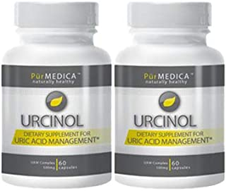 Urcinol - The Leading Uric Acid Supplement - 30 Day Supply. Premium Pain Relief & More Powerful Than Tart Cherry at Flushing Out Uric Acid. (2)