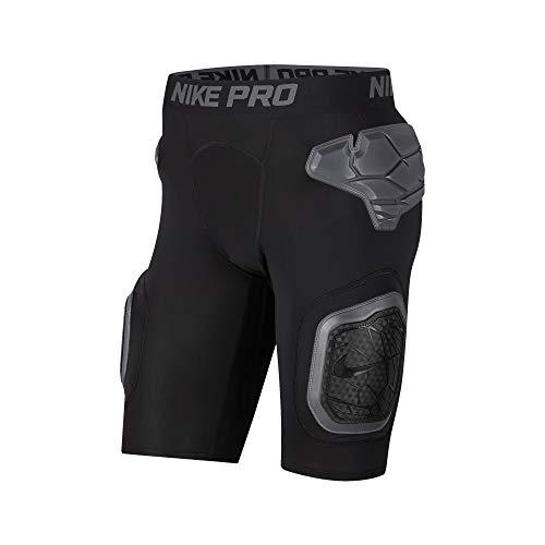 Nike Pro Hyperstrong 5 Padded Girdle (Schwarz, XL)