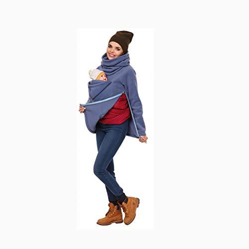 AIBAB Frauenkleidung Herbst Und Winter Multifunktion Känguru-Mutter Sweatshirt Kindertasche Baby Schlafsack