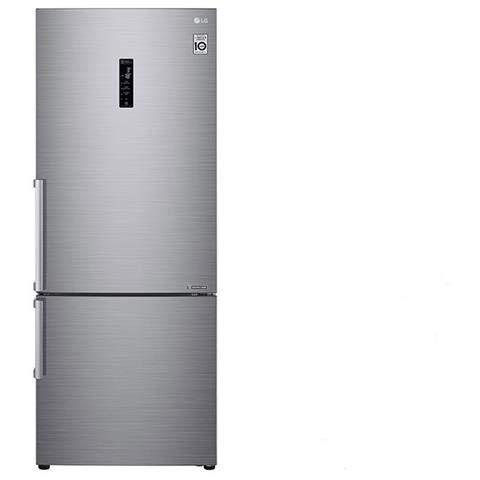 LG Frigorifero Combinato GBB567PZCZB Total No Frost Classe A++ Capacità Lorda/Netta 500/451 Litri Colore Inox