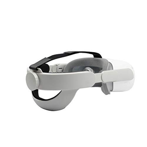 Wsrcxx Correa de cabeza compatible para Oculus Quest 2, correa de repuesto ajustable y cómoda, reduce la presión para auriculares Quest 2 VR Accesorios