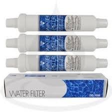 Wasserfilter DD-7098 für Siemens, Bosch, Daewoo, Neff / 497818 / 3019974800 / 4er-Set
