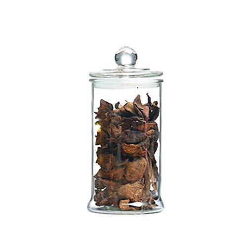 Juegos de recipientes Tarro multifuncional de almacenamiento de cristal transparente Contenedores de Almacenamiento, Conjuntos de bote for ser la cocina, for el té de la flor de la mercancía seca de a