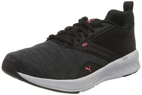 Puma Nrgy Comet, Scarpe per Jogging su Strada Unisex-Adulto, Black/Ignite Pink, 37 EU