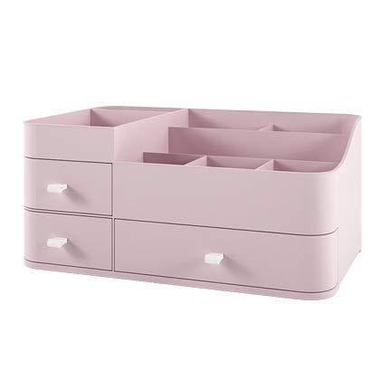 Estante, Organizador de escritorio, Tipo de cajón Cuidado de la piel Producto de almacenamiento de plástico Caja de almacenamiento