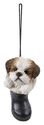 Vivid Arts Pet Pals – à suspendre – à suspendre RJM Shih Tzu (Hpp-w55-g)