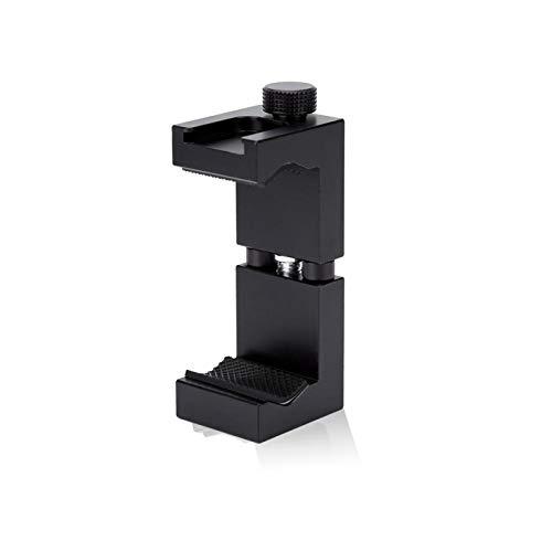 FOLOSAFENAR Soporte para teléfono de aleación de Aluminio Ajustable, Adaptador de Tornillo...