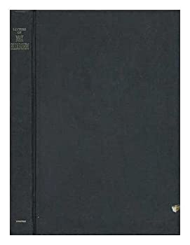 Letters of Max Beerbohm 1892-1956 (Oxford Letters and Memoirs) 0393026558 Book Cover