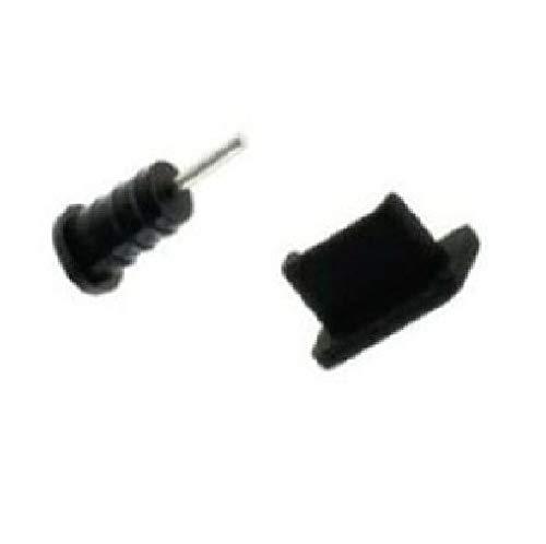 Supercase24 Staubschutz Stöpsel Kappen Set für Zopo Speed 7 ZP951 Handy für USB und Kopfhöreranschluss