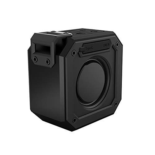 Docooler X1 Outdoor IPX7 wasserdichte Lautsprecher Drahtlose BT Lautsprecher TWS Stereo Sound Box 10 Watt Subwoofer Unterstützung TF Karte AUX IN mit Mikrofon Akku