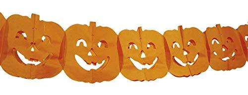 Décoration Halloween - Guirlande Citrouille - 4 mètres