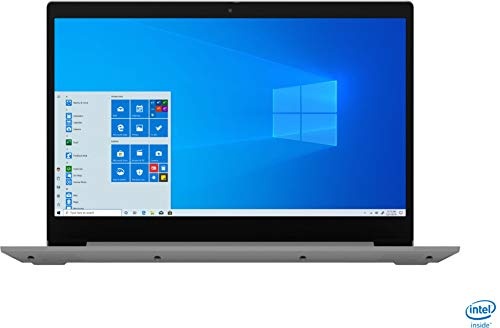 "2020 Newest Lenovo Ideapad 3 15 Laptop Computer/ 15.6"" FHD/ 10th Gen Intel Core i3-1005G1 Beat i5-7200U/ 8GB DDR4/ 256GB PCIe SSD/ Work from Home/ Windows 10/ AC WiFi/ iPuzzle External DVD Drive"