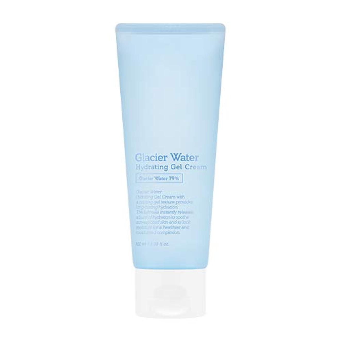 グリーンバック圧縮する土曜日アピュ 氷河水 ハイドレーティングゲルクリーム [大容量] / A'PIEU Glacier Water Hydrating Gel Cream 100ml [並行輸入品]