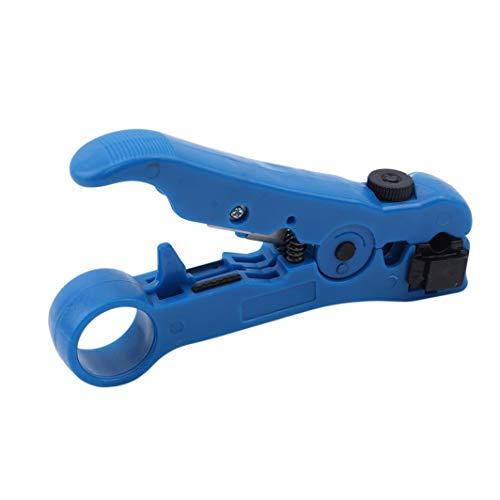 Reversible Cassette Kabelschneider Funktion Blue Coax Stripping Tool Koaxialkabel Stripper f/ür RG59 6//7//11
