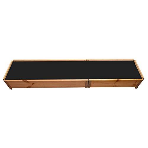 Multitanks - Carré potager en bois naturel 2000 x 400mm