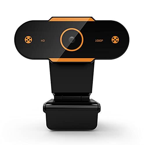 LYYDAN Webcam, 1080p Fhd Webcam Con Micrófono Para PC, Plug And Play Web Cam Con Autofocus, Transmisión de Webcam para Grabación, Llamadas, Conferencia, Juegos
