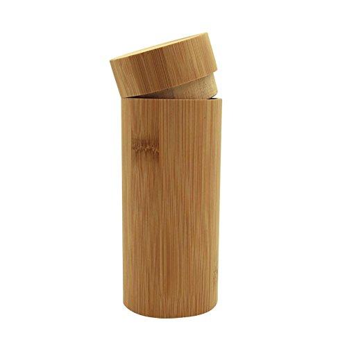 Handgefertigt Brillenetui aus Bambus Brillenetui Brillenbox Bambus Umweltfreundlich Brille Box Brille