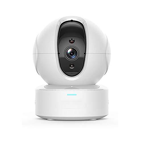 Cámara De Vigilancia Wifi Para Interiores, Visión Nocturna, Audio Bidireccional, Detección De Movimiento, 1080p, Detección De Movimiento De Seguimiento Inteligente Ai, Utilizado Para Bebés/Masc