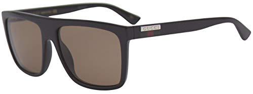 Gucci Gafas de Sol GG0748S BLACK/BROWN 59/17/145 hombre