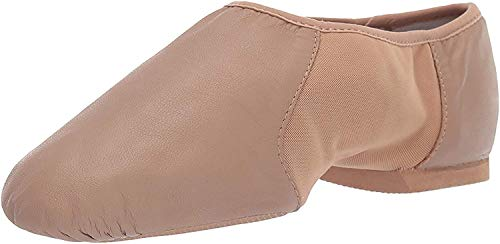Bloch Neo-Flex Jazz Shoe S0495L, Tan, 5.5 M US
