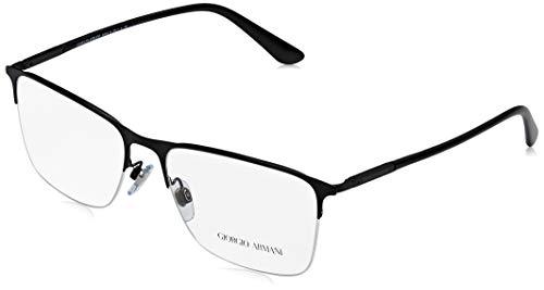 Armani Herren 0AR5072 Sonnenbrille, Matte Black, 55