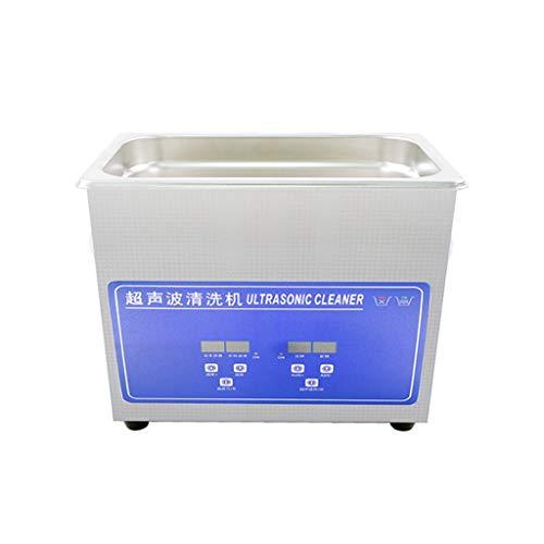 BBGS Limpiador Ultrasónico, 3L Sonic Maquina de Limpieza para Joyería Anillos de Plata Collar Colgante Afeitadoras Gafas Relojes Maquinillas de Afeitar Herramientas de Maquillaje