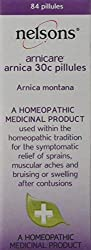 Nelsons Arnicare Arnica 30c Pillules are a homeopathic medicinal product used within the homeopathic tradition for the symptomatic relief of sprains, muscular aches, bruising or swelling after contusions Active ingredient: 30c Arnica montana A portab...